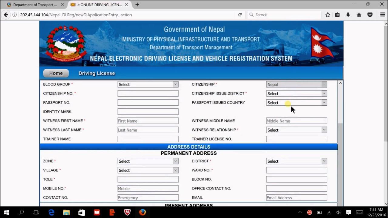 748732249Online-Licence-Form Online Application Form For Driving Licence Odisha on